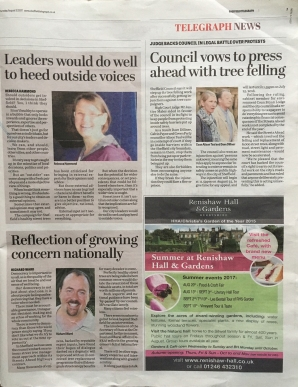Sheffield Telegraph Voices - 17th August 2017 b