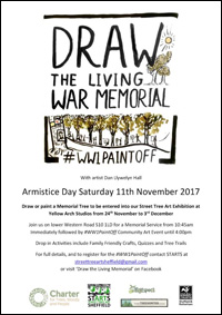 """Paint the Living War Memorial"