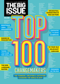 """The Big Issue: Top 100 Changemakers"